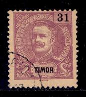 ! ! Timor - 1898 D. Carlos 31 A - Af. 71 - Used - Timor