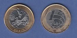 Brasilien / Brasil Olympische Spiele Rio 2016  1 Real Judo - Monnaies