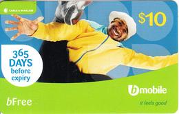 ST. VINCENT & THE GRENADINES - B Mobile By C&W Prepaid Card $10, Used - San Vicente Y Las Granadinas