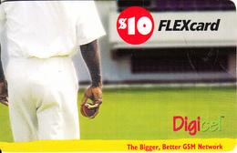 ST. VINCENT & THE GRENADINES - Cricket, Digicel Recharge Card $10, Exp.date 27/10/09, Used - St. Vincent & The Grenadines
