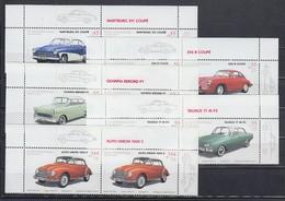 2003 Oldtimer-Automobile Wartburg, Opel Rekord, Taunus...ect. Paar-Satz Kpl. ** - [7] República Federal