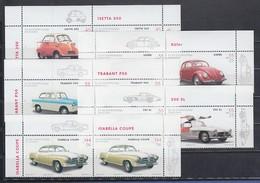 2002, Oldtimer-Automobile Isetta, Trabant, VW-Käfer Ect. Paar-Satz Kpl. ** - [7] República Federal