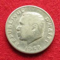 Haiti 5 Centavos 1958 F3 Wºº - Haïti