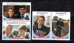 W2988 - FUNAFUTI TUVALU 1986, Serie ROYAL WEDDING   ***  MNH - Tuvalu