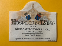 9347 - Nuits-Saint.Georges Hospices De Nuits 1975 Les Rue De Chaux - Bourgogne