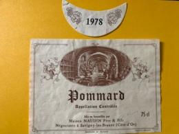 9350 - Pommard 1978 Naudin - Bourgogne