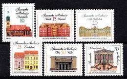 Allemagne 1971  Mi.nr.:1661-1666 Bauwerke In Berlin  Neuf Sans Charniere /MNH / Postfris - [6] République Démocratique
