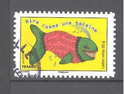 France Autoadhésif Oblitéré N°1165 (Sourires : Prendre Le Taureau Par Les Cornes) (cachet Rond) - France