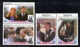 W3192 - BEQUIA ST.VINCENT GRENADINES 1986, Serie ROYAL WEDDING   ***  MNH - St.Vincent (1979-...)