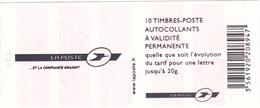 3074-C8 La Poste Et La Confiance Grandie Marianne De Lamouche - Carnets