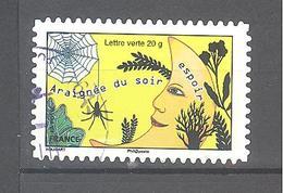 France Autoadhésif Oblitéré N°1174 (Sourires : Prendre Le Taureau Par Les Cornes) (cachet Rond) - France