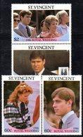 W3193 - ST.VINCENT 1986, Serie ROYAL WEDDING   ***  MNH - St.Vincent (1979-...)