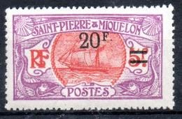 Saint-Pierre Miquelon Y&T 128* - St.Pierre & Miquelon