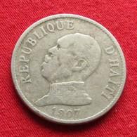 Haiti 20 Centavos 1907 F5 Wºº - Haïti