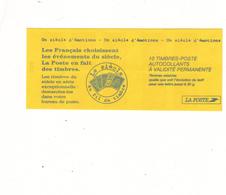 3085 - C 6 Un Sciecle D'emotion  Mariannes Du 14 Juillet - Carnets