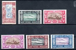 Saint-Pierre Miquelon Y&T 136* - 148* - St.Pierre & Miquelon
