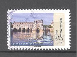 France Autoadhésif Oblitéré N°1117 (Architecture De La Renaissance En France) (cachet Rond) - France