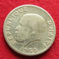 Haiti 20 Centavos 1956 F2 Wºº - Haïti