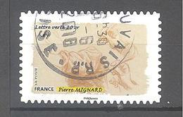 France Autoadhésif Oblitéré N°1093 (Le Toucher) (cachet Rond) - France