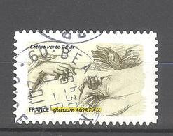France Autoadhésif Oblitéré N°1087 (Le Toucher) (cachet Rond) - Usati