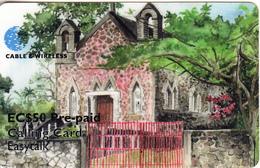 ST. VINCENT & THE GRENADINES - Rillan Hill Roman Catholic Church, C&W Prepaid Card EC$50(SVD-26), Exp.date 06/02, Used - St. Vincent & The Grenadines