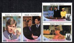 W3196 - NUI TUVALU 1986, Serie ROYAL WEDDING   ***  MNH - Tuvalu