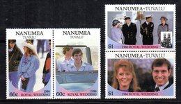 W3194 - NANUMEA TUVALU 1986, Serie ROYAL WEDDING   ***  MNH - Tuvalu