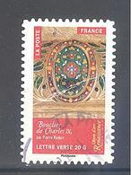 France Autoadhésif Oblitéré N°1014 (Objets D'art, Renaissance En France) (cachet Rond) - France