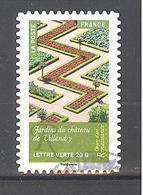 France Autoadhésif Oblitéré N°1016 (Objets D'art, Renaissance En France) (cachet Rond) - France