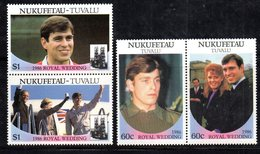 W3198 - NUKUFETAU TUVALU 1986, Serie ROYAL WEDDING   ***  MNH - Tuvalu