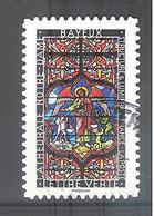 France Autoadhésif Oblitéré N°1357 (Structure Et Lumière : Bayeux) (cachet Rond) - France