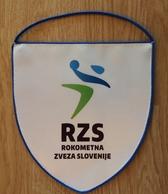 Pennant SLOVENIA Handball Federation Association New Design 18x20cm - Handball
