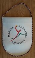 Pennant HUNGARY Handball Federation Association New Design 15x20cm - Handball