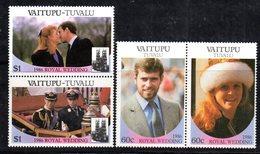 W3199 - VAITUPU TUVALU 1986, Serie ROYAL WEDDING   ***  MNH - Tuvalu