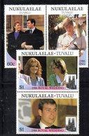 W3200 - NUKULAELAE TUVALU 1986, Serie ROYAL WEDDING   ***  MNH - Tuvalu