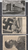 Deutsches Reich , 3 Fotokarten , Einmal Ersttag - Deutschland