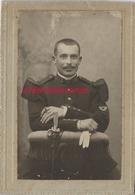 Photo Cartonnée 7,3 X 10,2cm-soldat Du 113e R - Guerre, Militaire