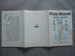 PELLEAS ET MELISANDE MUSIQUE DE CLAUD DEBUSSY LA VOIX DE SON MAÎTRE - Musique & Instruments