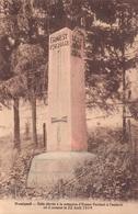 Rossignol Stèle élevé à La Mémoire D'Ernest à L'endroit ... 1914 - Tintigny
