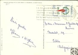 Espana 1968 Palafrugell Gerona > Eeklo B - 1931-Aujourd'hui: II. République - ....Juan Carlos I