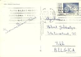 Espana 1976 Rosas Gerona > Eeklo B - 1931-Aujourd'hui: II. République - ....Juan Carlos I