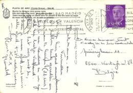 Espana 1972 Playa De Aro Gerona > Kortrijk B - 1931-Aujourd'hui: II. République - ....Juan Carlos I