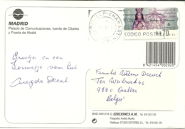 Espana 2000 MAdrid Chamartin > Aalter B - 1931-Aujourd'hui: II. République - ....Juan Carlos I