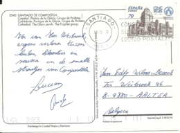 Espana 2000 Santiago > Aalter B - 1931-Aujourd'hui: II. République - ....Juan Carlos I