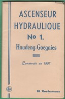 Belgique - Houdeng Goegnies - Carnet Complet De 10 Cartes - Ascenseur Hydraulique - La Louvière