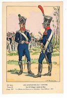 Uniforme.1er Empire.Officier De Chasseur Et Adjudant. 1812. Boisselier.   (33) - Uniforms