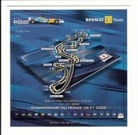 F1 - GRAND PRIX DU JAPON  - SUZUKA  - 13 .Octobre. 2002 - Grand Prix / F1