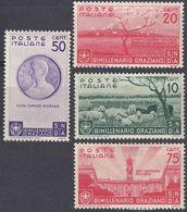 ITALIA - 1936 - Lotto Di Quattro Valori Nuovi MH: Yvert 378/379 E 381/382, Come Da Immagine. - 1900-44 Victor Emmanuel III.