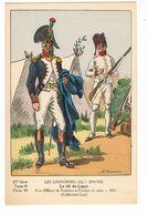 Uniforme.1er Empire.Officier De Fusiliers. En Veste 1805. Boisselier.   (43) - Uniformes