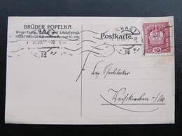 KARTE Graz - Weisskirchen Gösting Brüder Popelka 1917////  D*35957 - 1850-1918 Imperium